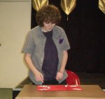 Junior performer Ryan Weiden Weber performs