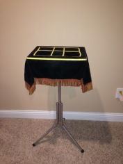 Black Art Table