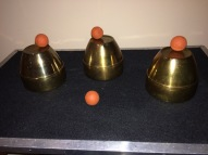 Brass Cups and Balls