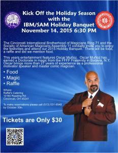 Holiday Banquet 2015